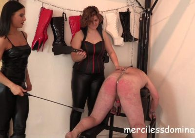 Lady G´s Private Slave Spanked 2