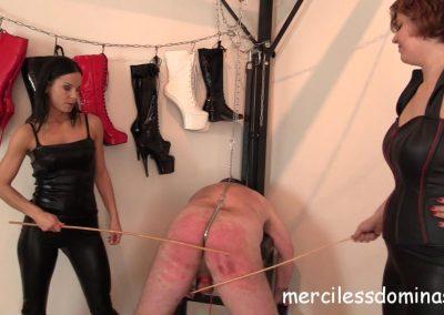 Lady G´s Private Slave Spanked