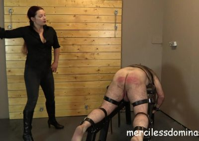 He Came For A Caning - 1