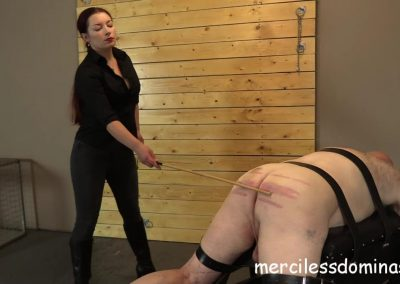 Caned For His Crimes - 1