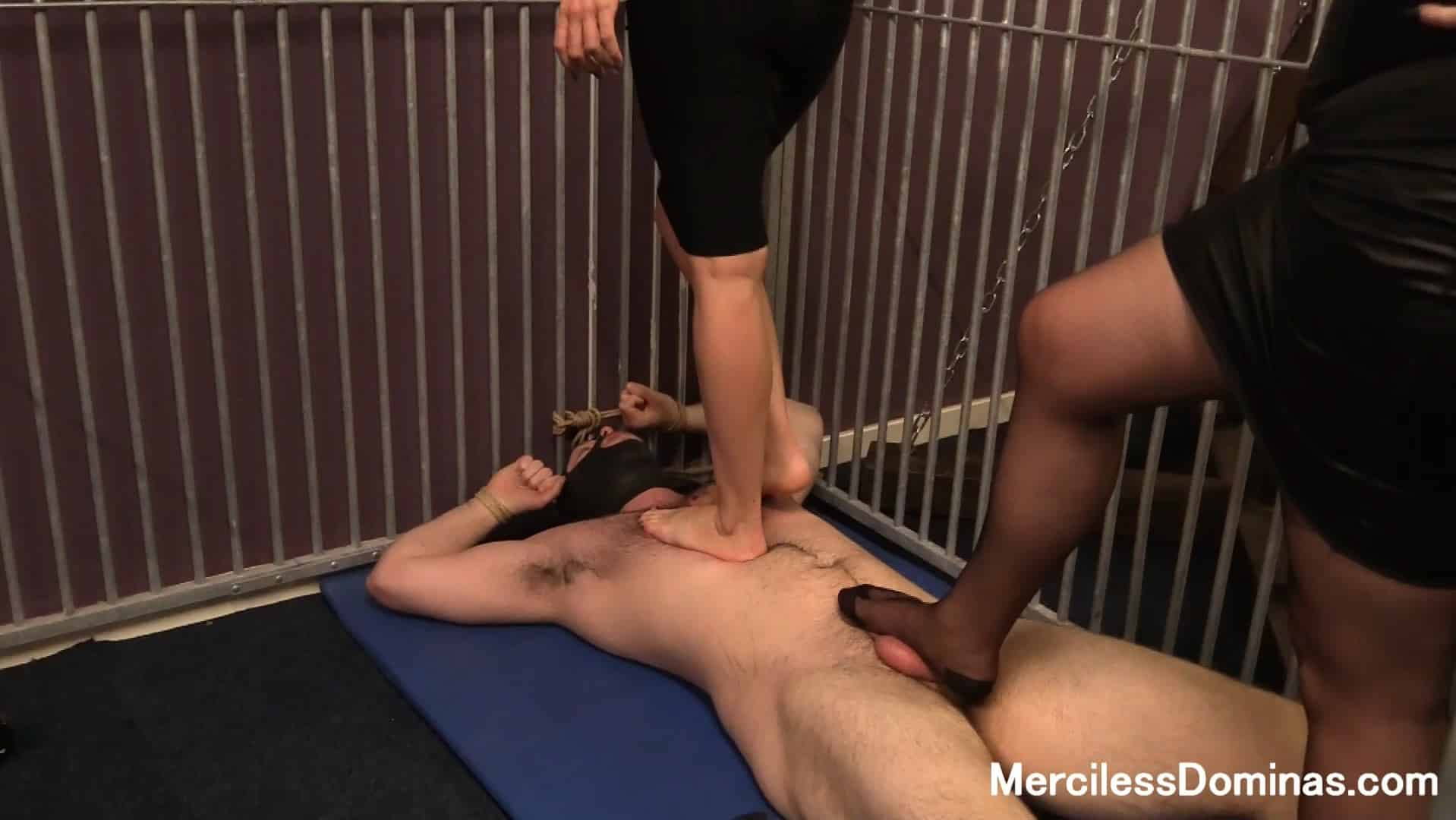 Rough Double Trampling