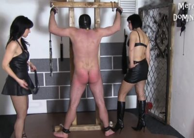 Hard Whipping of Two Slaves
