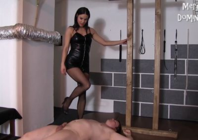 Lady G Trample Her Slave2