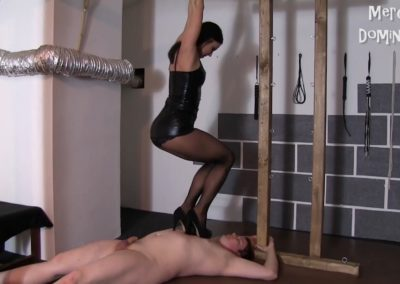 Lady G Trample Her Slave3