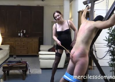 First Time Whipping of SlaveGuy4