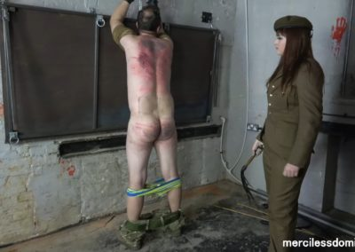 Hard Military Whipping4